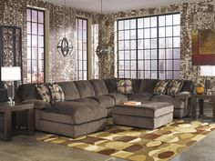 Home from AMB Furniture and Design Sectional Sofa With Chaise, Fabric Sectional, Living Room Sectional, Corner Sectional, Sofa Beds, Ashley Sectional, Sleeper Sofas, Reclining Sectional, Ashley Furniture Sofas