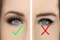 Makeup Tips Makeup eyeliner hacks for people with hooded eyes Eyeliner Hacks, Eye Makeup Tips, Skin Makeup, Makeup Ideas, Matte Eye Makeup, Wedding Makeup Tips, Matte Eyeshadow, Makeup Tricks, Makeup Designs
