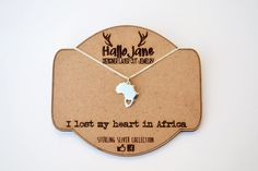I lost my heart in Africa by HALLO JANE