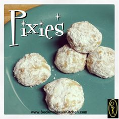 Your coffee's new best friend: Pixies are tiny little bites that are perfect for dunking in coffee or milk! #YUM