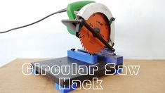 Circular saw Hack || Make A Mini Chop saw Machine