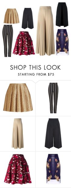 """""""versatilidad en faldas y pantalones"""" by gabrielaagl on Polyvore featuring Creatures Of The Wind, Topshop, Givenchy, Erdem, Marc Jacobs, Alexander McQueen, McQ by Alexander McQueen, women's clothing, women's fashion and women"""
