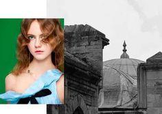 Julie Hoomans by Miguel Reveriego for Vogue Turkey April 2016 #fashion