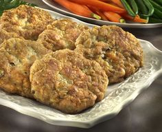 Clam Cakes-I would use chopped clams, not whole.