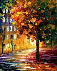 The Glowing Lights - Leonid Afremov