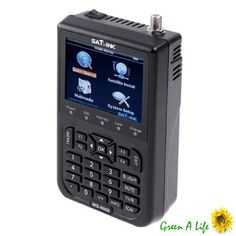 SATlink WS-6906 3.5 - Inch DVB-S FTA Data Digital Satellite Signal Finder Meter Sold by OBD-Hotsales,if any questions please email us..  #SATlink #BISS