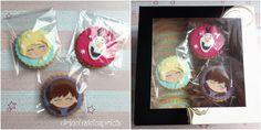 Galletas de vainilla con el tema Frozen Coasters, Frozen Theme, Custom Cookies, Coaster