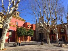 Sevilla, Plaza de San Lorenzo.