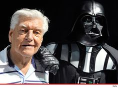 """The guy who wore the Darth Vader suit in the original \""""Star Wars\"""" movies says he won\'t be in the new ones ... because he\'s suffering from dementia.  David Prowse told the Mirror.uk he\'d love to join the original cast with a cameo in the upcoming trilogy ... even though Darth Vader is dead -- but says it would be difficult due to his condition.  The 79 year-old is hoping J.J. Abrams gives him a shot anyway.  Prowse, of course, did all the heavy lifting in Vader\'s helmet ... while James…"""