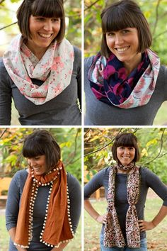 Scarves and Cowls sewing pattern