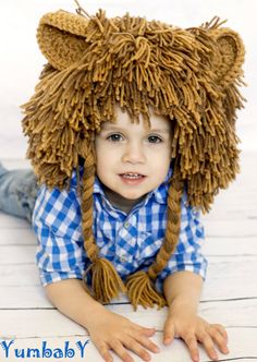 Lion Wig Halloween Costume L... from YumBaby on Wanelo