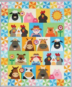10 Happy Quilts for Kids
