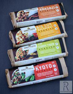 Sweet Earth Natural Foods Vegan Burritos | vegan.  Curry Tiger is my favorite!