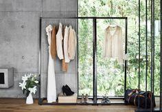 Skandinavisches Design Kings of Sweden - Lume-Garderobe Decoration Design, Deco Design, Clothes Rail, Clothes Storage, Clothes Hanger, Elle Decor, Betta, Minimalist Design, Minimalist Interior
