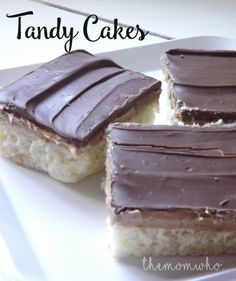 Delicious Tandy Cake Recipe --- Best I've ever eaten!!!