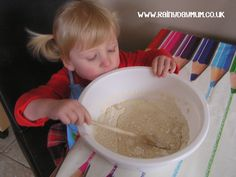 Cooking with Toddlers - a very simple St Patrick's Day Recipe for you to cook with your toddler Irish Soda Bread (add green food coloring)