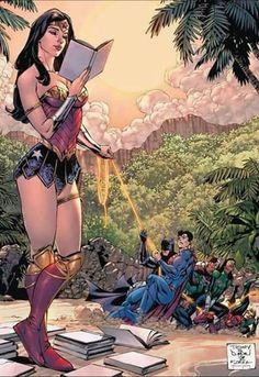 Wonder Woman by Tony Daniel. Go Wonder Woman! Arte Dc Comics, Bd Comics, Archie Comics, Marvel Comics, Dc Comics Funny, Dc Comics Girls, Super Heroine, Univers Dc, Dc Memes
