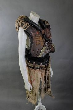 Post Apocalyptic Armor - Wasteland Warrior - Post Apocalyptic Cosplay - Burning Man Costume - Wasteland Weekend Costumes Designer of the project is Viola Sychowska, founder of Wasted Couture collective. Metal work is made by Łukasz Sieroń, member of Wasted Couture collective. An