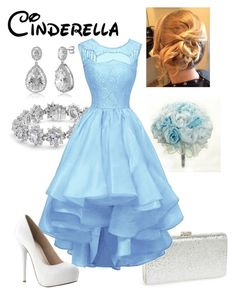 """""""Disney - Cinderella"""" by briony-jae ❤ liked on Polyvore featuring Natasha Couture, Bling Jewelry and BERRICLE"""