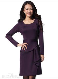 4698c679aaf1 US$21.99 Fascinating Korean Style Slim Long Sleeves Dress . #Dresses #Dress  #Style