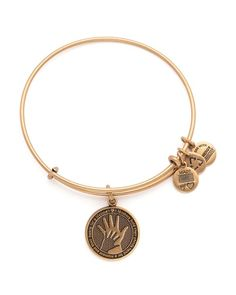 Alex and Ani Hand in Hand Expandable Wire Bangle Bloomingdale's