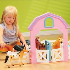My First Pony Corral w/ stable & much more for kids at CPtoys.com  $50.00