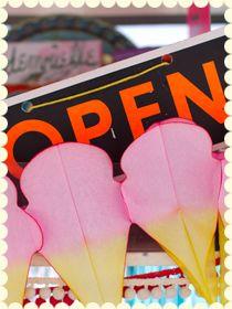 icecream van open