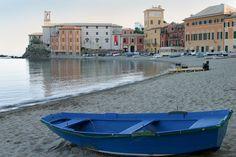 The bay of silence in Sestri Levante