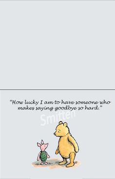 #winnie the pooh.... To all the beautiful people in my life!
