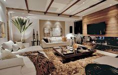 Decoración de Salas para Espacios Amplios y Grandes ~ Diseño y Decoración del Hogar Design and Decoration