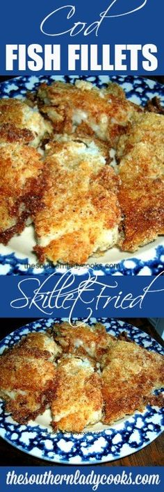 Fried cod fish is one of my favorites. This easy pan fried cod fish fillet recipe will make your mouth water. You will make this cod fish many times. Cod Loin Recipes, Cod Fish Recipes, Salmon Recipes, Seafood Recipes, Drink Recipes, Chicken Recipes, Snack Recipes, Dinner Recipes, Fish Recipes Pan Seared