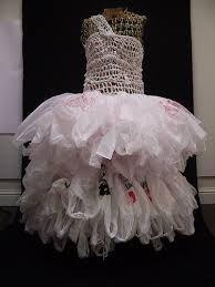 plastic bag dress - Google Search