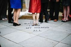See It, Do It: Peel-And-Stick Letters - A Practical Wedding: Blog Ideas for Unique, DIY, and Budget Wedding Planning