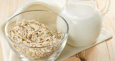 Receta de avena para bajar de peso, eliminar el ácido úrico y reducir el colesterol del malo
