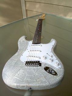 You should Mod Podge a guitar