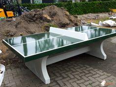 Pingpongtafel Groen bij Stichting het Parkhuis in Dordrecht