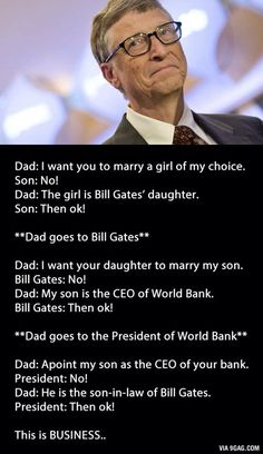 This is Business.....