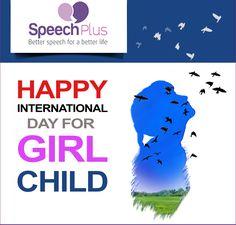 International Day For Girl Child #InternationalDayForGirlChild #SaveTheGirlChild #GirlChild #SpeechPlus