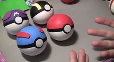 GIY – Do It Yourself Pokeballs From PopCultureCrafts