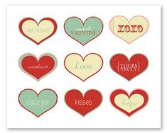 Tays Rocha: Love - Tags e embalagens - Especial amor ♥