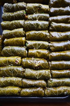 Lemony Quinoa Dolmas | Recipe from Traveling Fork