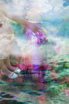Dream-like digital photo manipulation