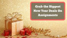 New Year Offers 2019: Catch the biggest deals on Assignment Writing Service in this new year week. Book your Order now and get 35% instant discount on all Academic Writing Services.