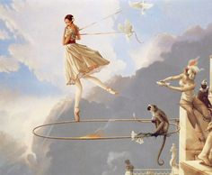 «Tuesday's Child» by Michael Parkes