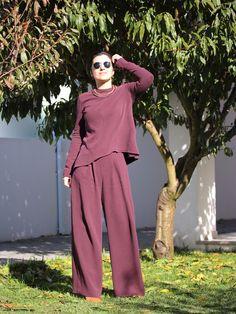 Tany et La Mode: Self-made pant suit (V1525 – Rebecca Vallance for Vogue), personal style, self-made style, daily looks, estilo pessoal, moda feita em casa, look do dia