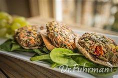 Ultimate Vegetable Burgers | Recipe Guide | Dr Fuhrman.com