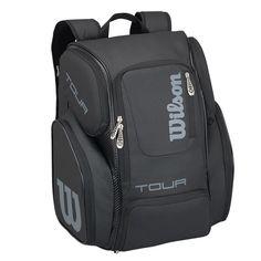 Wilson Tour V Black Large Backpack 51906ac6bc98