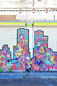 Wall 45 3 Hearts mural 333 S Jensen Dr Houston TX 77003