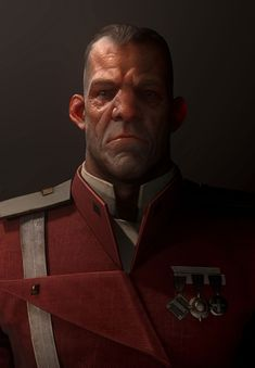 NPC Portrait from Dishonored 2