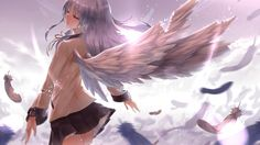 Angel Beats is one of my all time favorite animes due to is very unique storyline and characters. You just can't find another anime like it around and that's why I wanted to create a place where people could find anything and everything Angel Beats. Angel Beats, Manga Anime, Anime Art, Yuri Anime, Hot Anime, Angel Wallpaper, Lit Wallpaper, Anime Angel, Beautiful Anime Girl